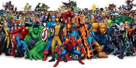 superheros marvel