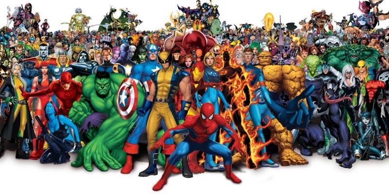 Les meilleurs d tournements des super h ros marvel - Super heros a dessiner ...