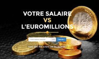 votre salaire vs l'euromillion