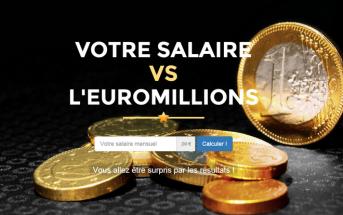 Votre salaire VS l'EuroMillions : le simulateur de jackpot !