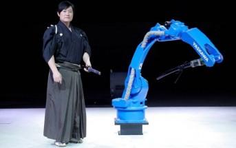 Battle : un robot affronte un maître samouraï au Katana