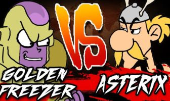 GOLDEN FREEZER VS ASTERIX - RAP BATTLE!