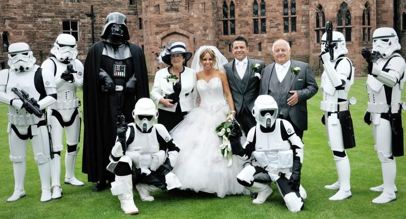 Mariage insolite Star Wars
