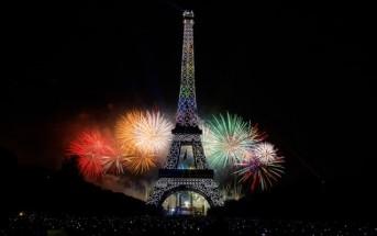 Vidéo : revoir le feu d'artifice du 14 juillet 2015 à la Tour Eiffel Paris