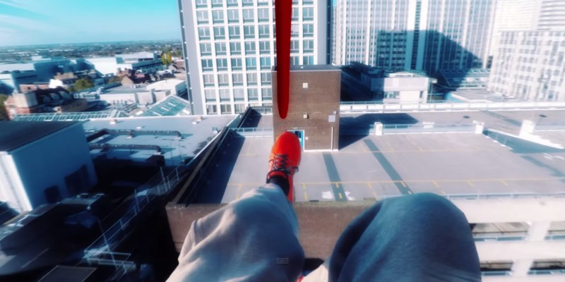 free run parkour mirror's edge