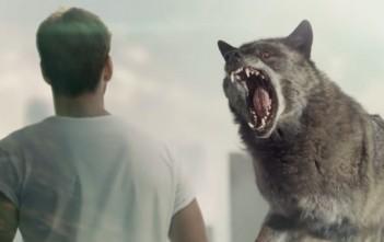 pub diesel 2015 avec un loup