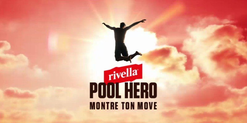 rivella poolhero : montre ton move