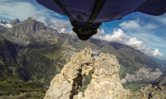 wingsuit base jump Uli Emanuele