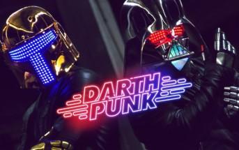 Darth Punk : le clip qui mixe Star Wars & Daft Punk