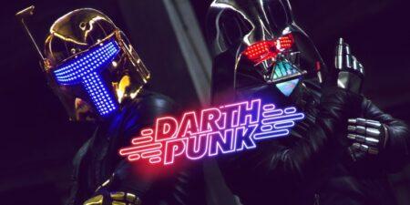 Darth Punk : le mashup Star Wars + Daft Punk