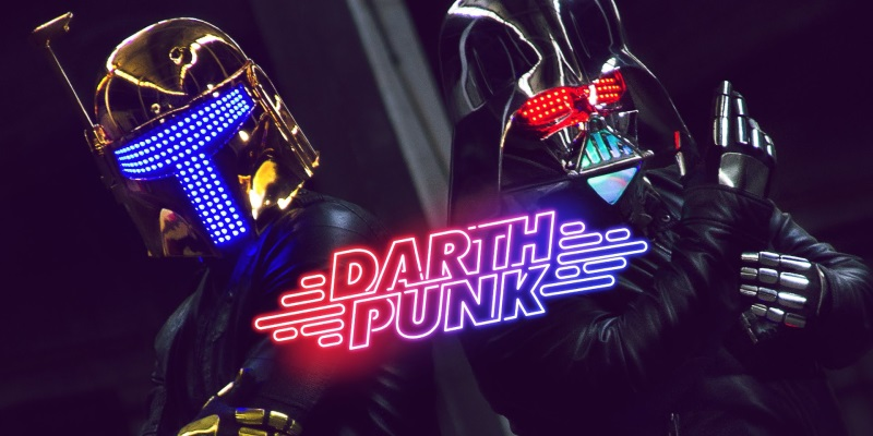 Darth Punk : le mashup Star Wars + Daft Punk