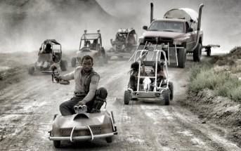 Mad Max Fury Road parodié avec des karts et du paintball