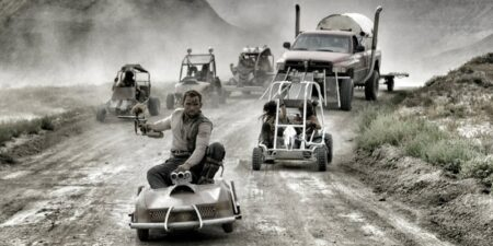 Mad Max GoKart Paintball War