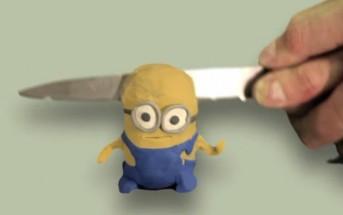 Stop motion  : 30 moyens de tuer un minion en pâte a modeler