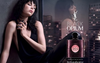 Pub Black Opium 2015 Yves Saint Laurent : Eau de Parfum YSL