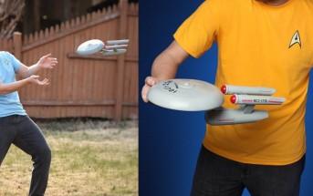 Must have : le frisbee en forme de vaisseau star trek !