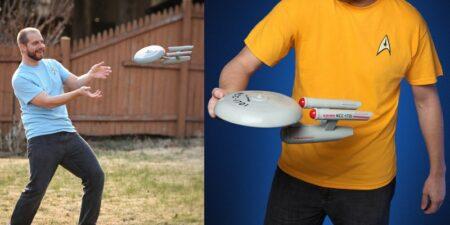 frisbee star trek