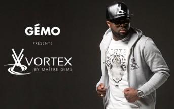VORTEX, la marque de Maître GIMS en exclusivité chez Gémo