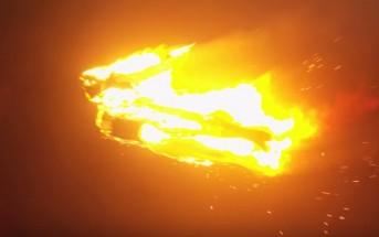Un drone reproduit la Torche humaine des 4 fantastiques