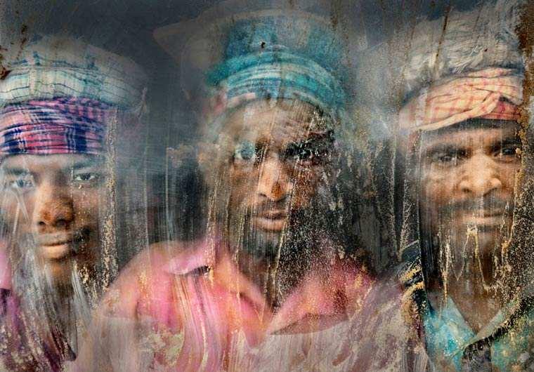 Gravel Workmen - Faisal Azim