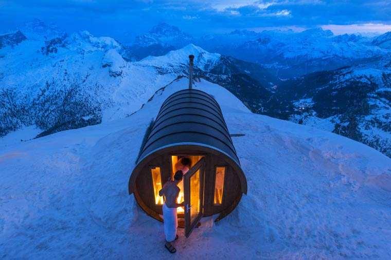 Sauna in the Sky - Stefano Zardini