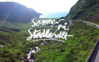 Découvrez la beauté de la Norvège en été filmée par un Drone