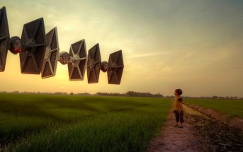 Photomanipulation : quand Star Wars débarque en Malaisie
