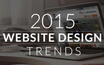 Les plus belles tendances du webdesign en 2015