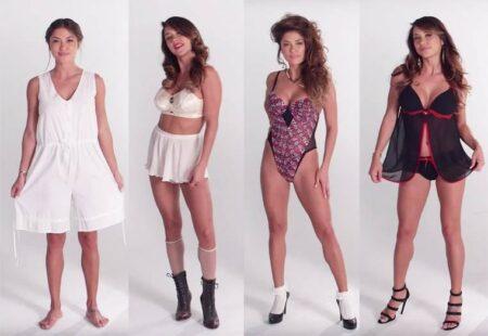 100 ans de lingerie féminine en 3 minutes