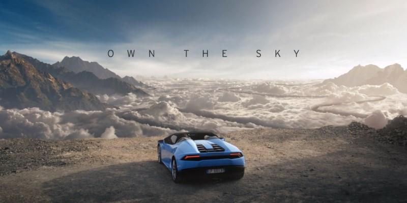 Lamborghini Huracán Spyder - Own the sky