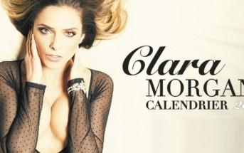 Clara Morgane nue et sexy pour son calendrier 2016