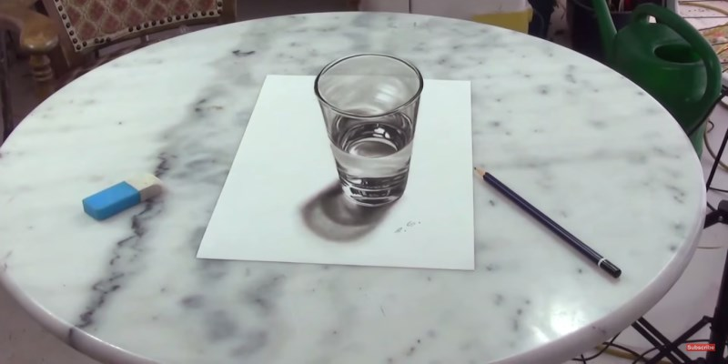Drawing Glass In Cas