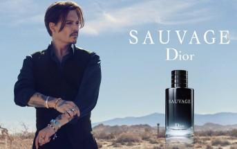 Johnny Depp sauvage dans la pub du nouveau parfum Dior