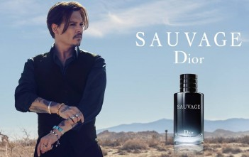 johnny depp sauvage parfum dior