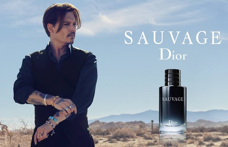 johnny depp sauvage dans la pub du nouveau parfum dior. Black Bedroom Furniture Sets. Home Design Ideas
