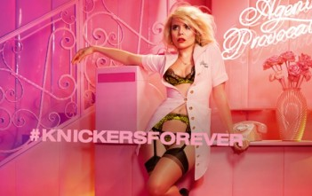 Paloma Faith pour agent provocateur #knickersforever