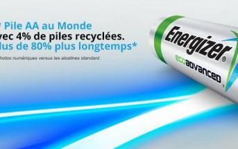 Energizer lance la 1re pile fabriquée à partir de piles recyclées