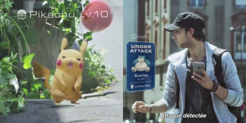 pokemon go : l'application mobile en réalité augmentée