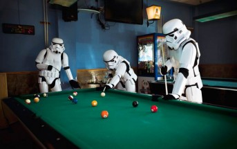 Photo : la vie intime des Stormtroopers de Star Wars