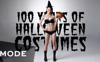 100 ans de costumes d'Halloween résumés en 3 minutes
