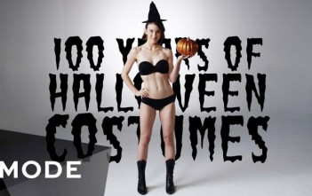 100 ans de costumes d'halloween