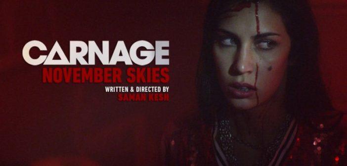 November Skies : le clip gore et trash de DJ Carnage