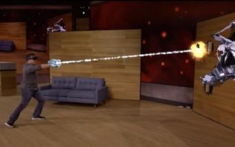 HoloLens Project Xray transforme votre salon en jeu vidéo