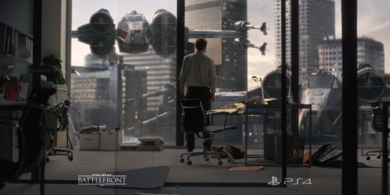 Pub Star Wars Battlefront PlayStation | PS4