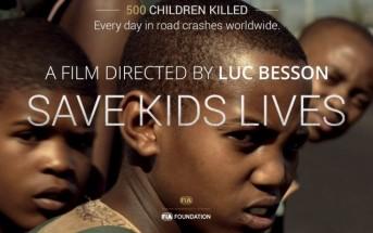 Sécurité routière des enfants : un clip saisissant de Luc Besson