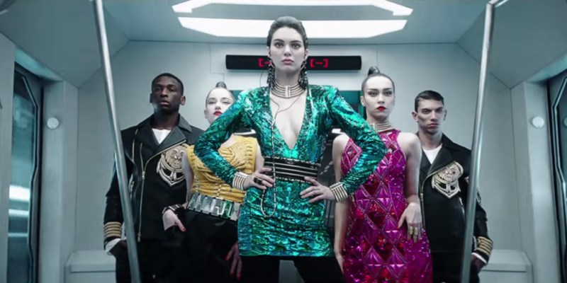 Balmain x H&M : la pub 2015 avec Kendall Jenner