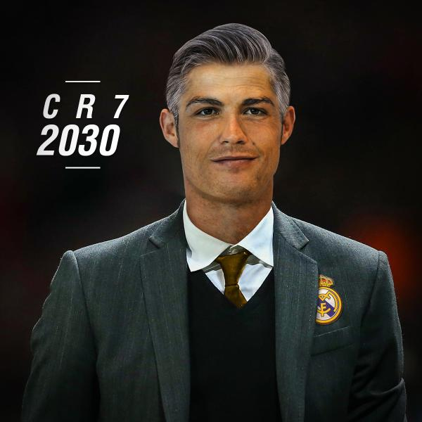 Cristiano Ronaldo (cr7) futur entraîneur du Real Madrid en 2030