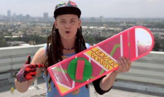 fausse pub pour le hoverboard