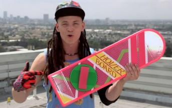 La fausse pub officielle du Hoverboard de Retour vers le futur