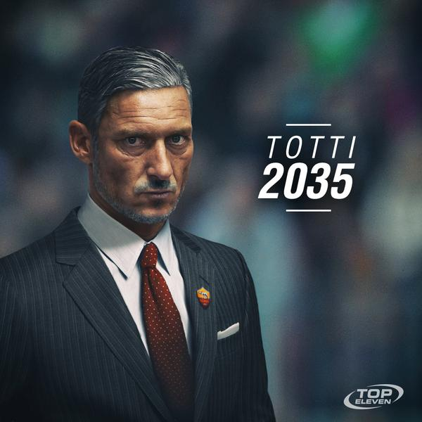 Francesco Totti futur entraîneur de l'AS Rome en 2035
